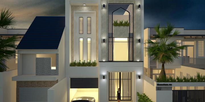 Khám phá thiết kế biệt thự đẹp và sang trọng 120m2 đơn giản