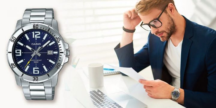Đồng hồ Casio Nam MTP-VD01D-2BVUDF ấn tượng nhất năm 2020